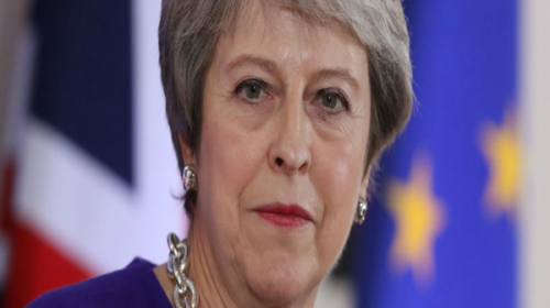 """Theresa May writes in Sunday Express Saying """" Brexit failure a catastrophic breach of trust """""""
