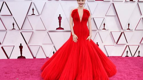 STARS ON THE RED CARPET AT THE 93RD OSCAR AWARDS – 2021