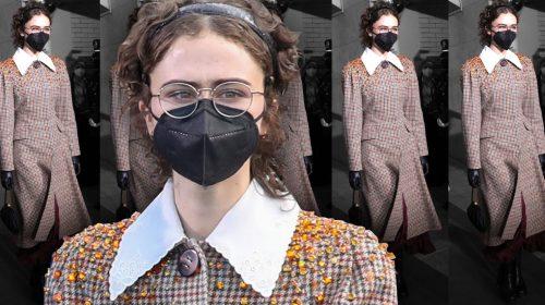 American Vice President Kamala Harris' daughter Ella Emhoff walks the ramp at Paris Fashion Week