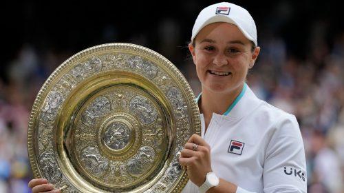 Australia's Ash Barty wins Wimbledon women's singles final against Karolina Pliskova