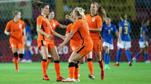 Olympics 2020: Netherlands, Brazil draw in epic six-goal thriller with Marta, Vivianne Miedema on target