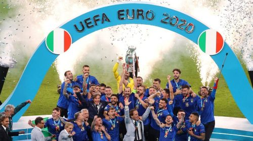 Italy crowned Euro 2020 champions after penalty shootout win against England