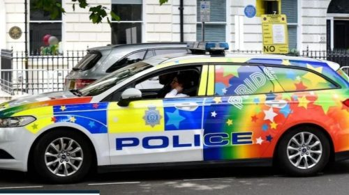 Police in UK will use 'rainbow colored' patrol cars to help the LGBT community
