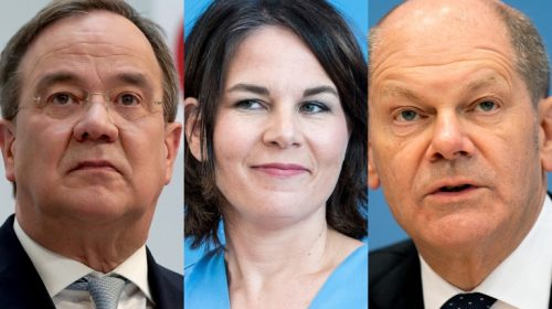 German election: SPD, Greens and FDP hold first 3-way talks to explore possible coalition