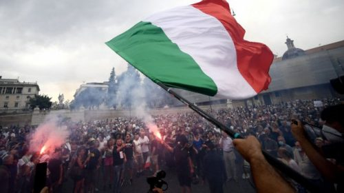 Italy to start Covid-19 'green pass' rule, irrespective of protests in Rome