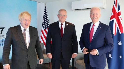 UK & Australia Say AUKUS Pact Over hyped, Allay Fears